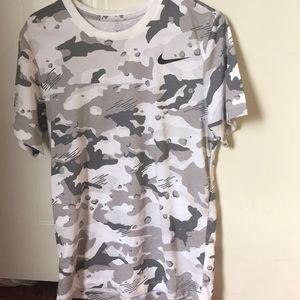 Grey Camo Nike shirt